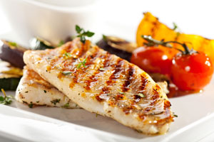 bigstock-Grilled-Fish-Fillet-with-BBQ-V-45216772
