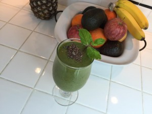 Green Lean Protein shake